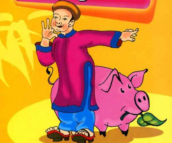 Đọc truyện cười dân gian: Trạng Lợn xem bói