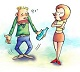 Truyện cười: Bị đánh mà vợ vẫn sướng