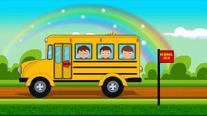 Sinh viên đi xe buýt
